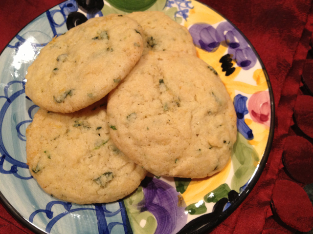 Basil:Lemon Cookies