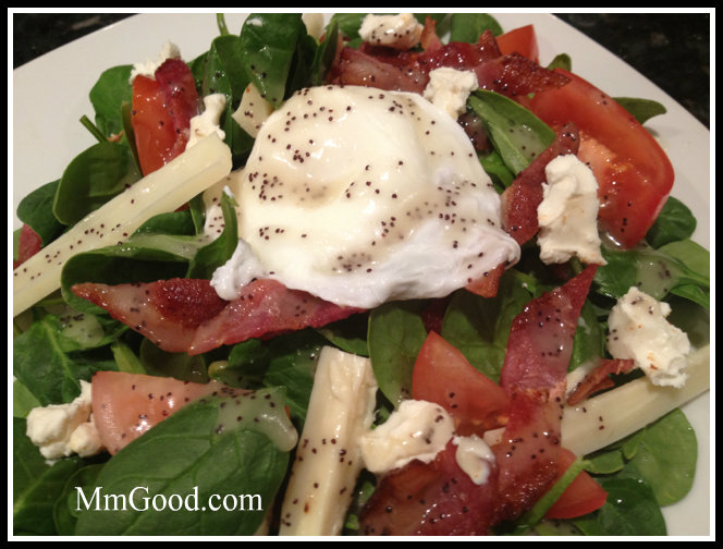 Spinach Salad with Egg