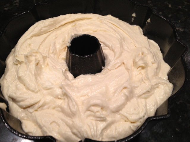 Lemon Cake in Bundt Pan