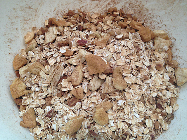 Apple Pie Granola - tossed