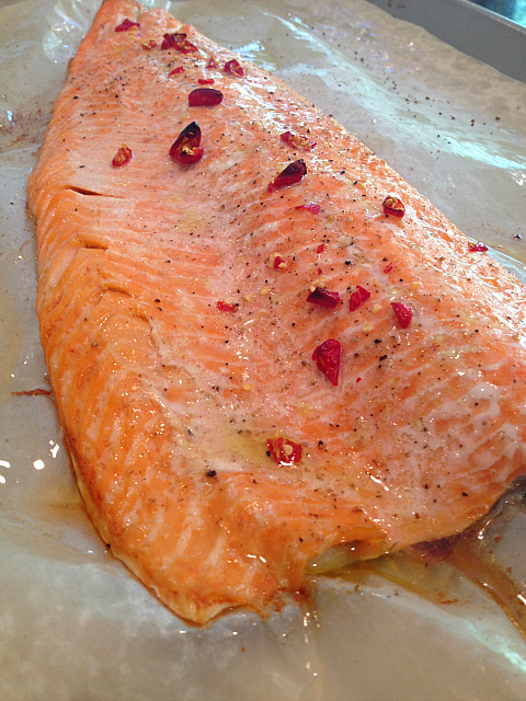 Baked Salmon baked