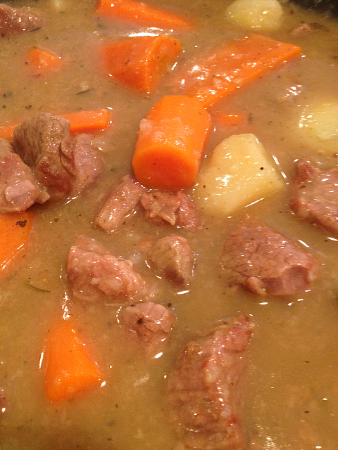Beef Stew - almost done