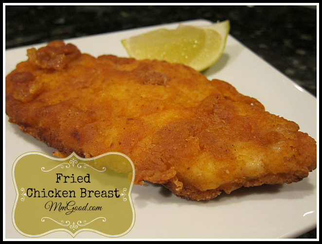 Dixie Fry - Fried Chicken Breast ~ MmGood.com