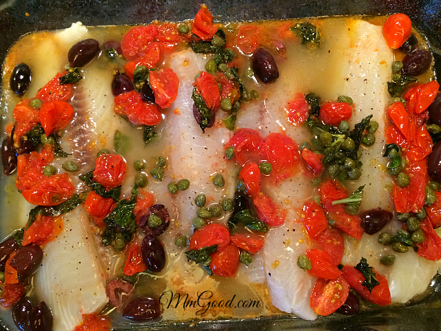 fish ready for baking