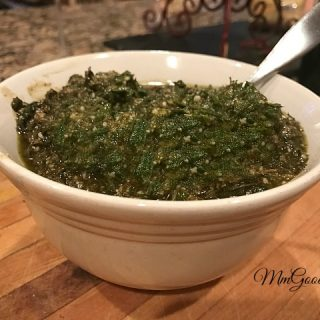 Homemade Pesto with No Nuts!