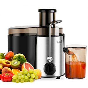 Aicok-Juice-Extractor-Juicer-Centrifugal-Fruit-Machine-Powerful-400-Watt-with-Juice-Jug-and-Cleaning-Brush-Stainless-Steel-0