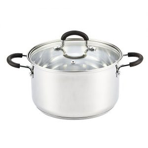 Cook-N-Home-02442-Stockpot-Saucepot-with-Lid-Induction-Compatible-16-quart-Metallic-0