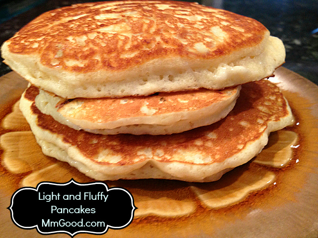A light fluffy pancake that tastes amazing with a secret pancakes mmgood ccuart Gallery