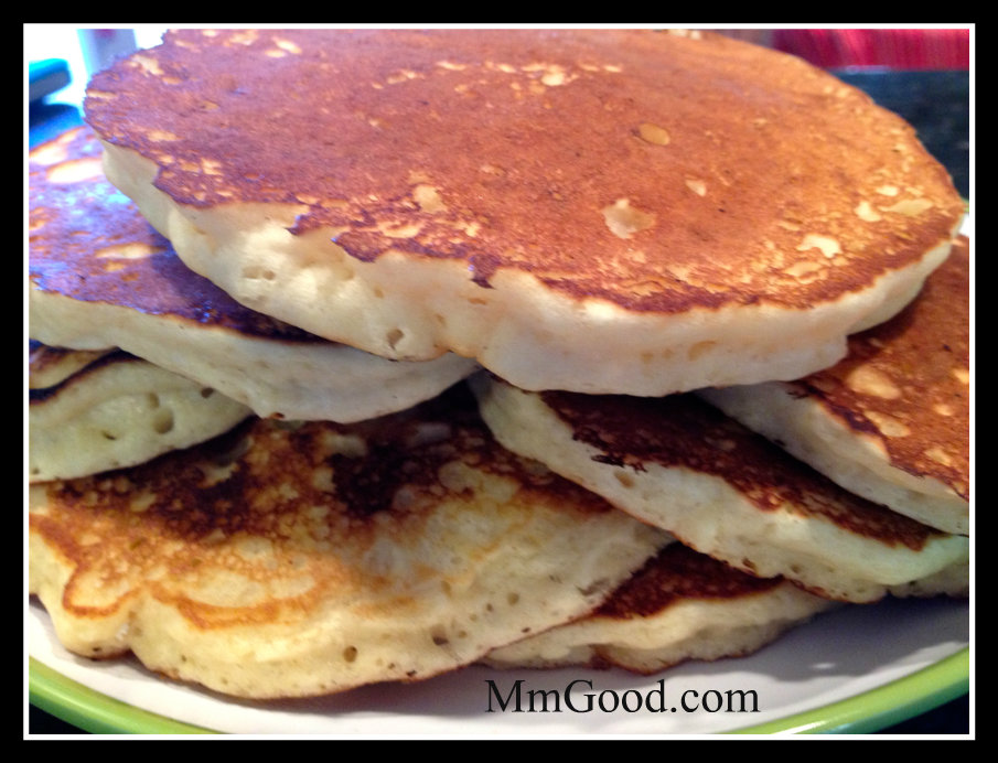 Light and Fluffy Homemade Pancakes...best recipe ever! | Mm Good