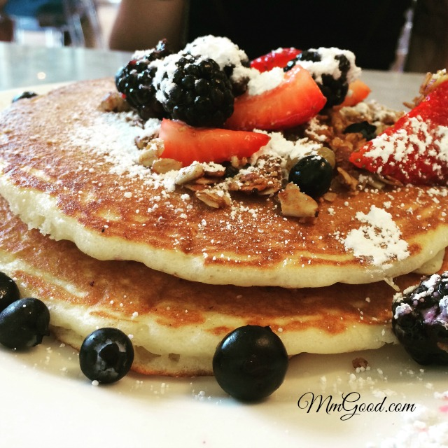 A light fluffy pancake that tastes amazing with a secret pancake ccuart Images