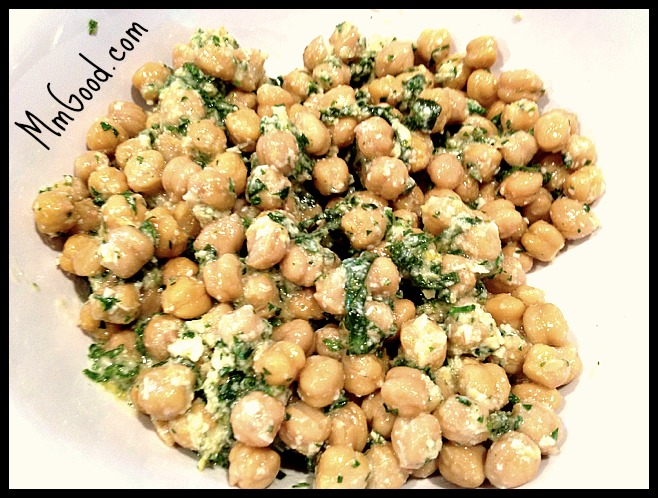 Chickpea Salad With Lemon, Parmesan, And Fresh Herbs Recipe ...