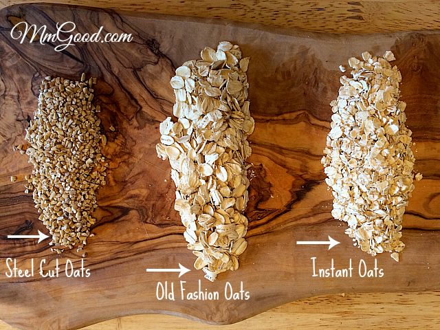 Oats – Steel Cut, Old Fashion or Instant? Do you know the Difference ...