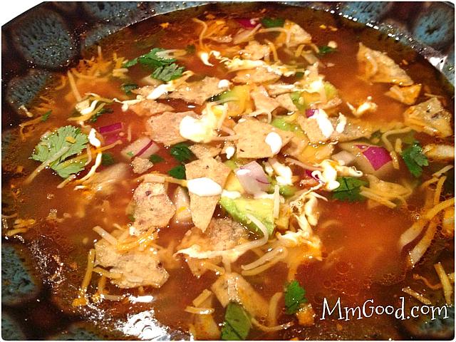 Mexican-Chicken-tortilla-soup