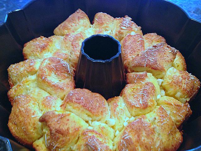 Garlic Bread - Baked