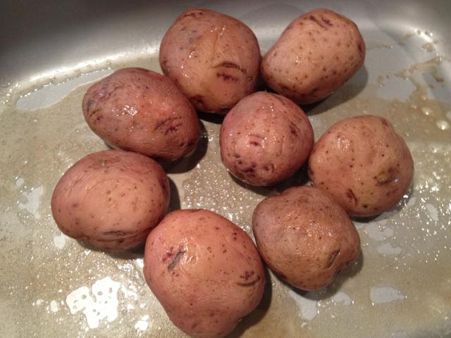 Potatoes - in pan