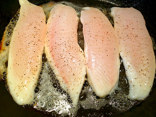 Tilapia-Cooking