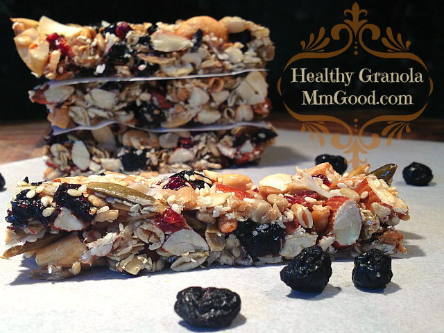 Healthy Granola - Sliced