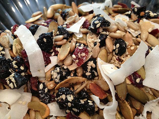 Healthy Granola - seeds