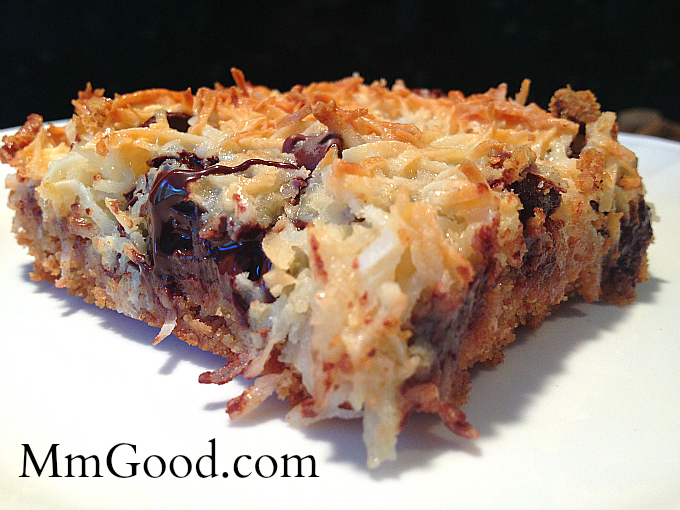 Gooey Coconut Bars MmGood.com