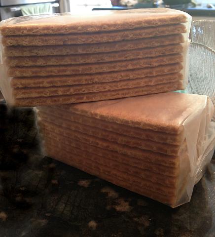 Gooey Coconut Bars - in packs