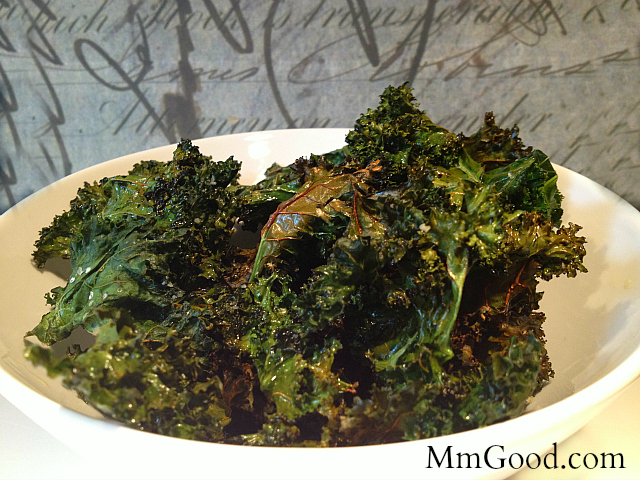 Kale Chips - In a Bowl