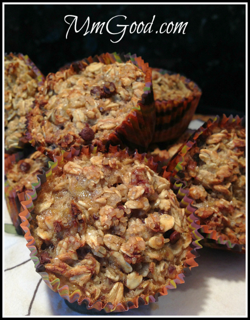 Oatmeal Banana Muffins | MmGood.com