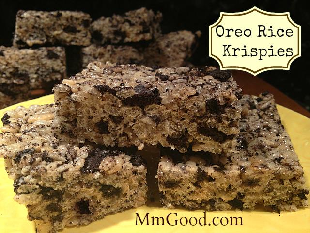 Oreo Rice Krispies (Crispies) | MmGood.com