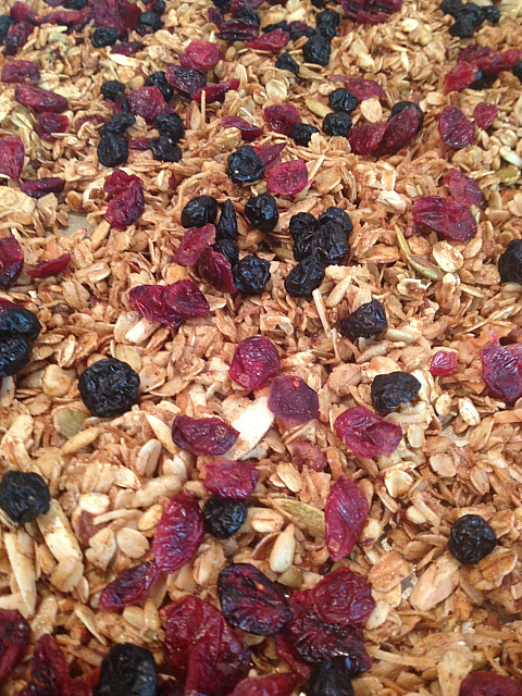 granola - with fruit