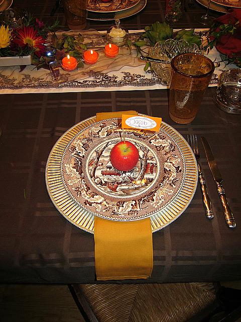 Thanksgiving table MmGood