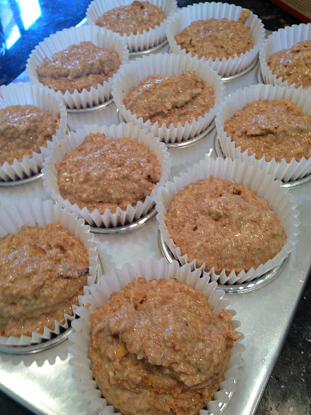 Bran Muffins - in tins