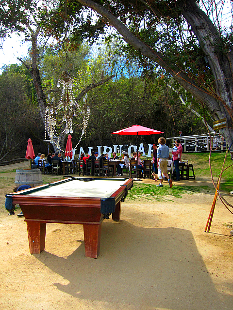 Calamigos Ranch - pool table