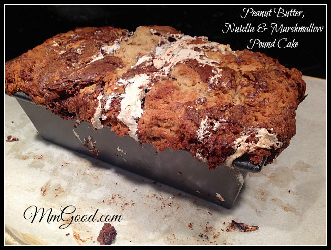 Pound Cake - in pan