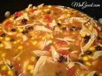 30 Minutes (Super Easy) Chicken Taco Soup