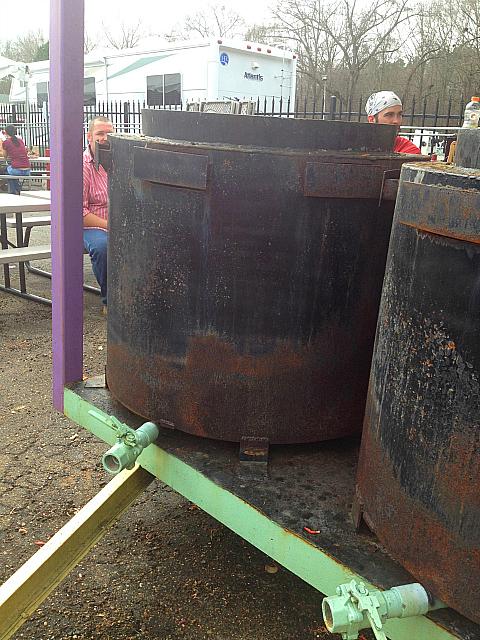 Crawfish barrels