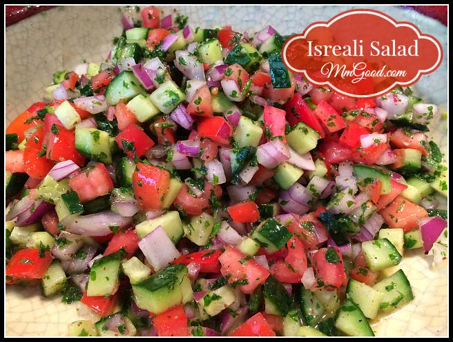 Isreali Salad - MmGood.com