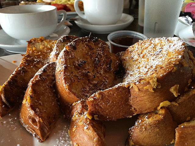 Crave - crunchy french toast
