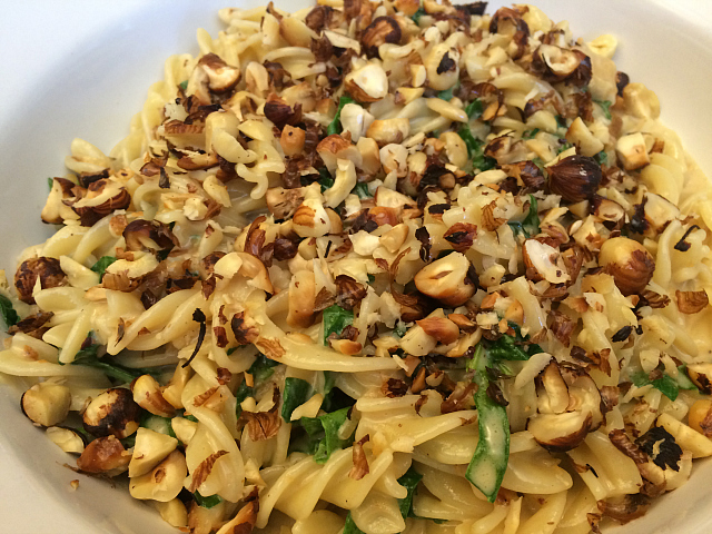 Pasta - pasta and nuts