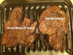 Rib Eye (ribeye) Steak vs Porter House (T-bone) Steak
