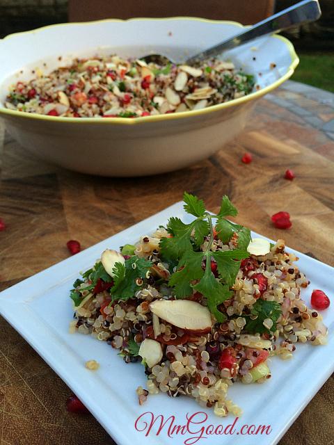 Quinoa Salad |MmGood.com