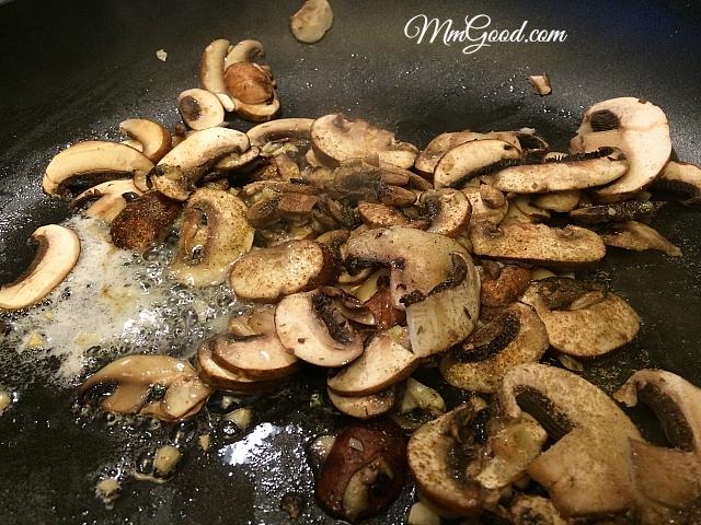 mushrooms sauteed