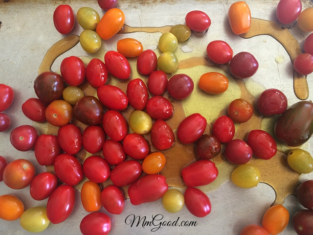 tomatoes with honey