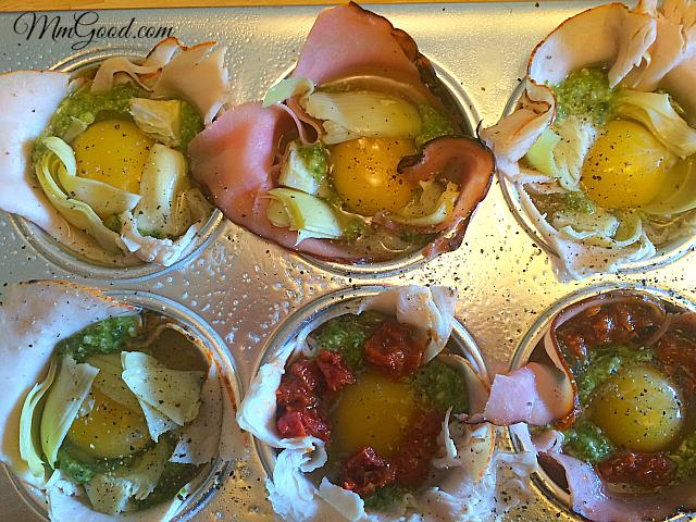 eggs prebaked
