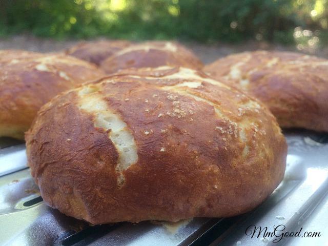Baked Pretzel Bread