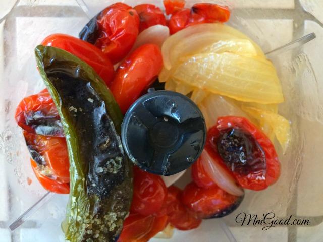 Roasted Veggie in Blender
