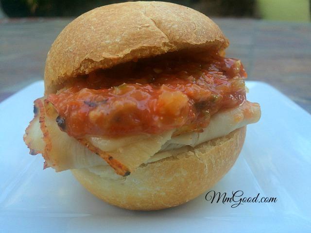 Sandwich with Salsa