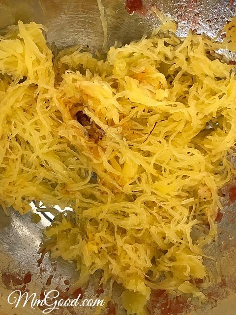 spaghetti-squash-shredded