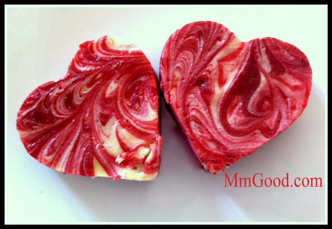 The Perfect Heart Shaped Brownie Red Velvet Cheesecake