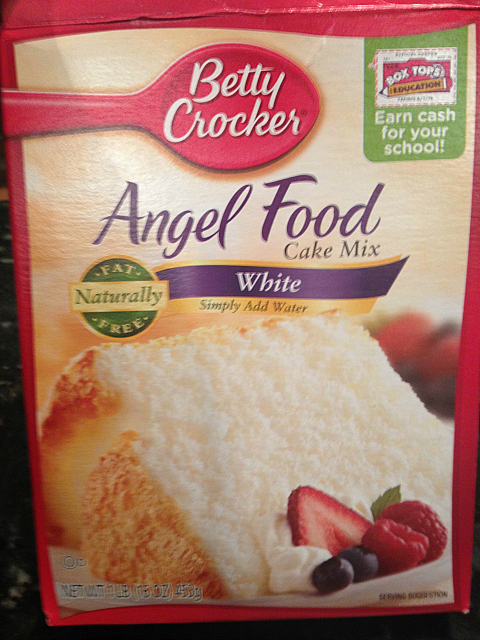 Secret Ingredient For My Angel Food Cake Mmgood